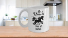 Be A Unicorn In A Field of Horses Custom-Designed Ceramic Coffee Mug 11 & 15 oz