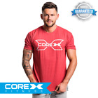 CoreX Fitness - X-Ray Tee - Heather Red S-XXL FAST FREE DELIVERY