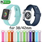 Replace Sports Silicone Bracelet Strap Band For Apple Watch Series 3/2/1 38/42mm image