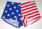 NWT VICTORIA'S SECRET PINK AMERICAN FLAG STAR STRIPES PATRIOTIC BOYSHORT PANTIES