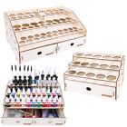 Внешний вид - OPHIR Wooden Paint Rack Pigment Ink Bottle Storage with Cabinet Holder Organizer
