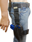New Barsony Tactical Leg Holster w/ Mag Pouch Colt Kimber Compact 9mm 40 45