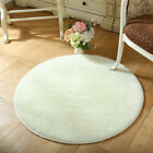 Super Soft Shaggy Round Square Carpet Area Rug Mat Fluffy Non Shed Deep X Large