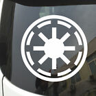 Galactic Republic Old Republic Car Decal Sticker Star Wars pick size and color!