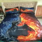 Guitar Duvet Cover Pillow Case Quilt Cover Bedding Set Twin Queen King All Size