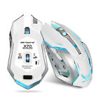 2400DPI Optical Professional Gaming Wrieless Mouse 7LED Ergonomics Fr Laptop/PC