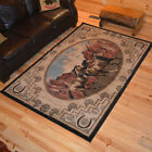 Escape Horse Western Cabin Rug Various Sizes and Shapes with FREE Shipping