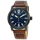 Citizen Chandler Eco-Drive Mens Leather Watch - Choose color