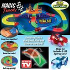360PCS Magic Tracks Amazing Racetrack that Can Bend Flex Glow 11Ft Car As SeenTV