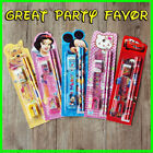 Famous Cartoon Stationery Set (sharpener Pencil eraser) Kids Xmas Party Favor a