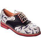Dancing Days Oxford Saddle Schuhe - Old Soul Dancer Dandy Rockabilly