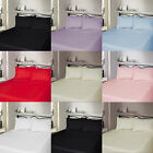 5* 400 THREAD COUNT LUXURY HOTEL QUALITY EGYPTIAN COTTON FLAT SHEET AL UK SIZE