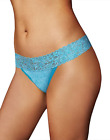 Maidenform ONE SIZE All Lace Thong Panty 40118 Panties BLUE PEAKS Sexy Underwear