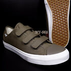 white canvas shoes for men - VANS STYLE 23 V CANVAS WALNUT TRUE WHITE MEN'S SKATE SHOES/S81143.104