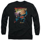 Superman VICTORY Licensed Adult Long Sleeve T-Shirt S-3XL $25.9 USD on eBay