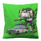 """TRASFORMES GHOST BUSTERS CAR Pillow Case Cushion 16 """"18"""" 20"""" Zippered Cover"""