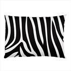 Hot New zebra skin pattern for pillow case cover free shipping