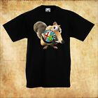 BABY/KID/TODDLER BLACK T-Shirt Alfa Romeo Ice Age Scrat EICHHÖRNCHEN/SQUIRREL