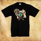 BABY/KID/TODDLER BLACK T-Shirt SKODA Ice Age Scrat EICHHÖRNCHEN/SQUIRREL
