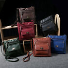 Fashion Women Portable Leather Satchel Small Cross Body Shoulder Messenger Bag