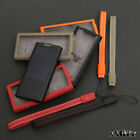For Sony NW-ZX300 Walkman ZX300 Leather Case Cover + Strap + Protector Film