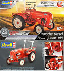 Revell 1/24 Tractor Porsche Diesel Junior 108 New Plastic Model Kit 07820 Age10+
