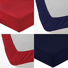 """Luxury 180GSM 100% Brushed Cotton Flannelette Thermal 16"""" Deep Fitted Bed Sheet"""