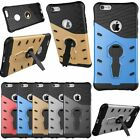 360 Rotating Shockproof Cover Armor Case with Kickstand For iPhone 7 6s Plus 5s