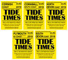 Yellow Publications South West Tide Times 2018 Tide Tables