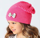 Spring Girls / Kids Hats / NEW / PINK / Made in EU / 5 - 8 YEARS