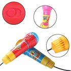 1 Pcs New Plastic/Cristal Head Echo Microphone Echo Tube With Black Line Toy