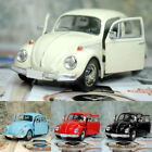 Vintage Beetle Diecast Pull Back Car Model Toy for Children Gift Decor Cute