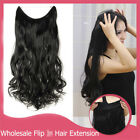 Headband Secret Wire In Hair Extension Invisible Curly Wavy Real Remy Human Hair