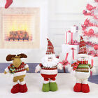 1x Santa Snowman Elk Christmas Stretchable Kids Doll Ornaments Toy Party Xmas
