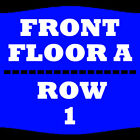 2 TIX BRIAN MCKNIGHT 1/5 FLOOR A ROW 1 GOLDEN NUGGET LAKE CHARLES