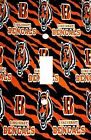 Cincinnati Bengals - Decorative Decoupage Light Switch Covers - Made To Order on eBay