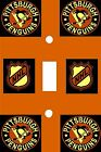 Pittsburgh Peguins Hockey Team - Decorative Decoupage Light Switch Covers