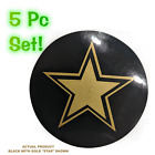 """Rockstar Style Wheel Center Cap 3.25"""" Overlay Decals Choose UR Colors 5 in a SET"""