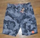 Urban Pipeline Max Flex Waistband Cargo Shorts Hits at the knee Black Camo