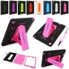 Kids Shockproof Heavy Colorful Kickstand Case For Apple Ipad 234/mini123/air 12