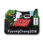 PyeongChang 2018 Winter Olympics Korea Traditional Food 3D Magnet