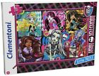 Clementoni Moster High 200 Teile Glitter Puzzle - Freakly Flaws Monster High NEU