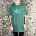 WESC Corp  Casual T-Shirt, Tee Brand New - in Green Size: XL