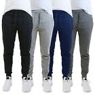 Mens Jogger Pants Sweatpants French Terry Active Gym Lounge Sleep Slim Fit NWT