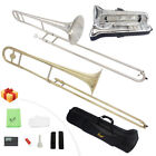 Brand New Professional Brass Trombone with Bag & Accessories