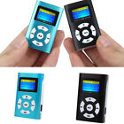 USB Mini Portable MP3 Player LCD Screen Support 32GB Micro SD TF Card