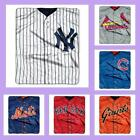 MLB Licensed Plush Jersey Raschel Afghan Throw Blanket - Choose Your Team on Ebay