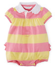 baby girl Bubble ROMPER by RALPH LAUREN ruffles on bottom 6/9M (75cm) BNWT