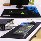 Plus Size Gaming Mouse Pad Locking Edge Rubber Mouse Mat For Computers & PC