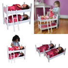 18 Inch Doll Furniture Beds wood for Ame rican Girl Bunk Bed